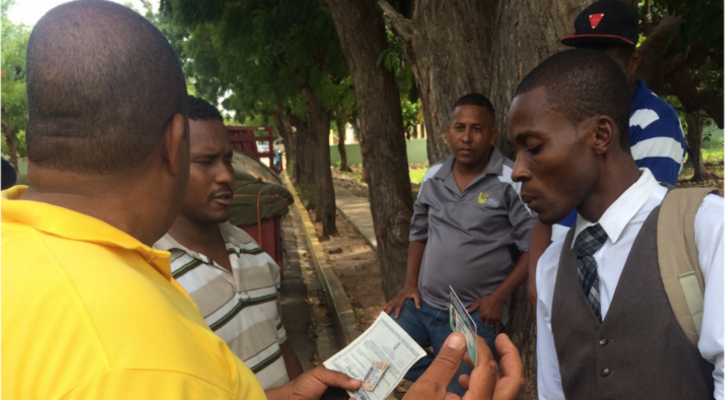 During Six Hours Of Travel Between Perdenales And Barahona Our Bus Was Stopped By Dominican Immigration Four Times These Security Checkpoints Are Targeted